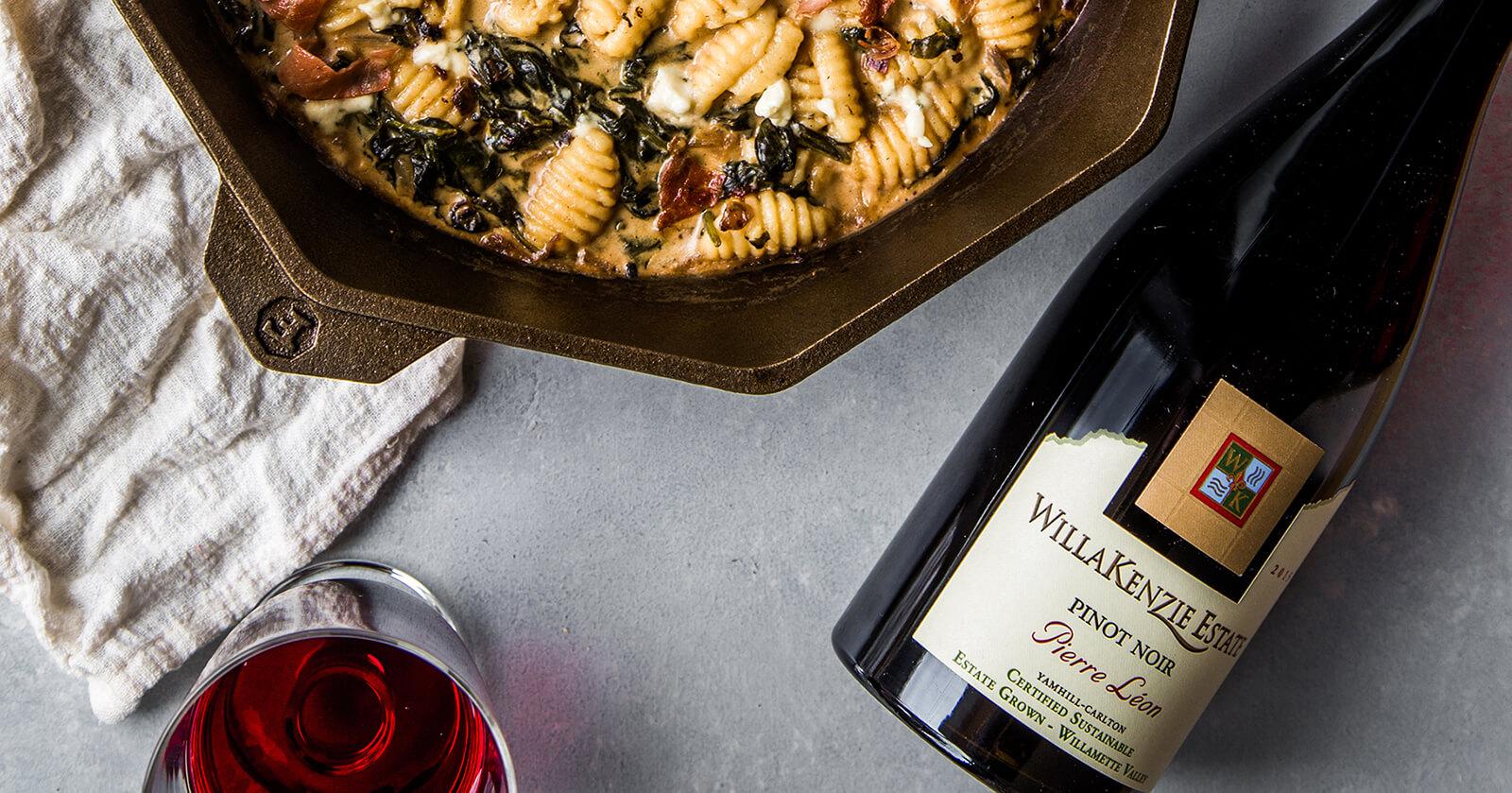 Four Course Pinot Noir Dinner Recipe